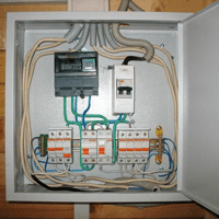 Монтаж, установка, замена, ремонт электрического щитка в Чите. Ремонт электрощита Чита. Индивидуальный квартирный электрощит в Чите