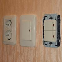 Монтаж, ремонт, замена выключателей Чита